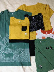 レディース福袋 レディースTシャツ×2枚、ワンピース×3枚、秋冬商品×1枚 合計6枚